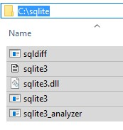 Install SQLite on Windows
