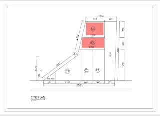 Site Plan Rumah Cluster Baru TERMURAH Dekat Pajak Melati Flamboyan Raya Simpang Pemda Medan | Promo 285 Juta