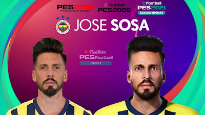 PES 2021 Faces Jose Sosa by PES Football Turkey