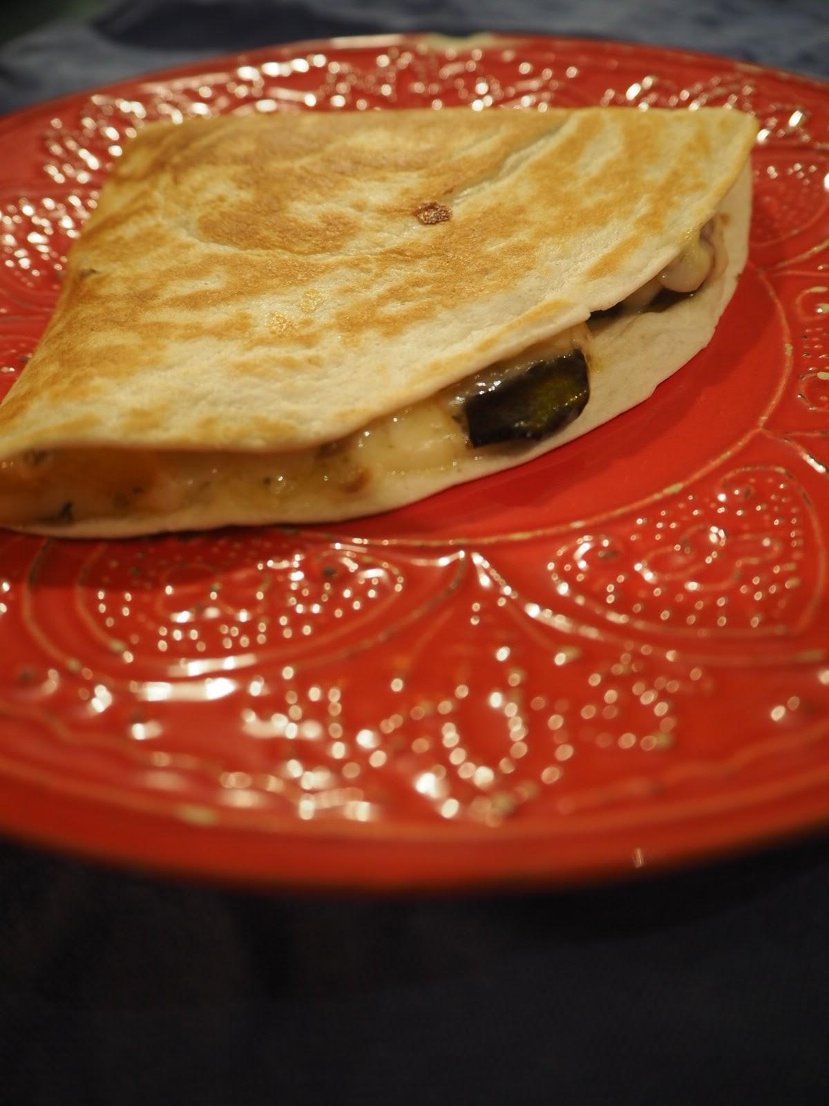 Quesadilla z warzywami – meksykański przysmak