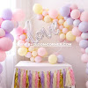 Ide Dekorasi Dengan Balon Latex Macaron