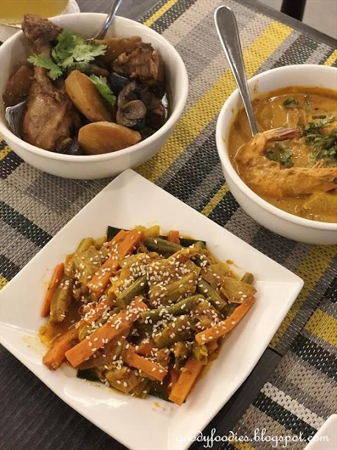 Makan Nyonya, Estadia Melaka - acar
