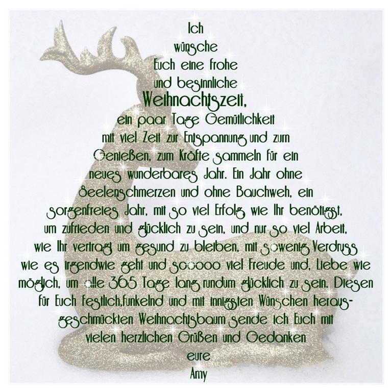 Weihnachtsbaum Der Guten Wünsche.Ich Wünsche Euch Einfallsreich