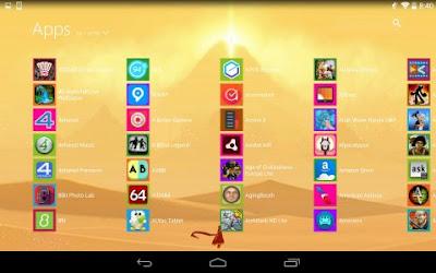 Tampilan Aplikasi Metro UI Launcher 8.1 Pro