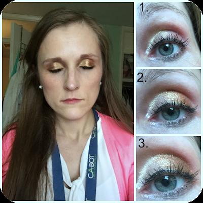 max factor smoky eye drama kit sumptuous gold tutorial