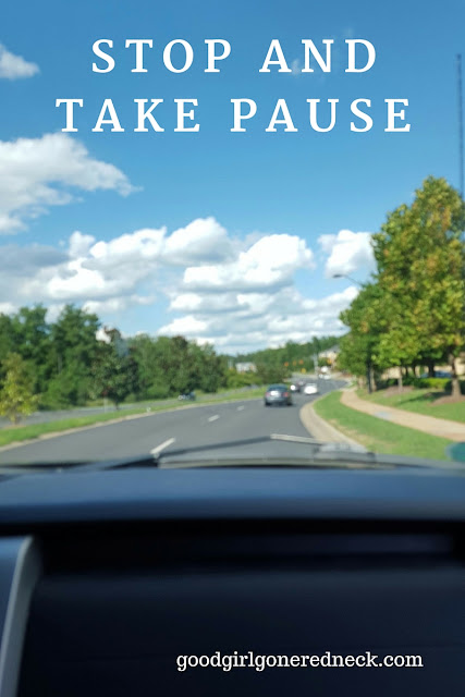 Stop and Take Pause
