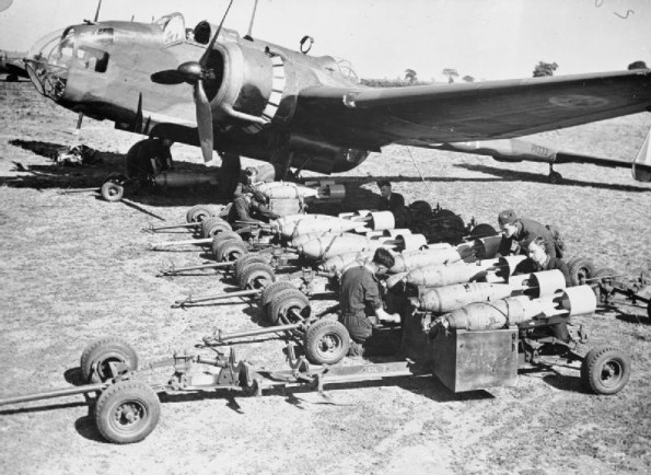 17 August 1940 worldwartwo.filminspector.com Handley Page bomber