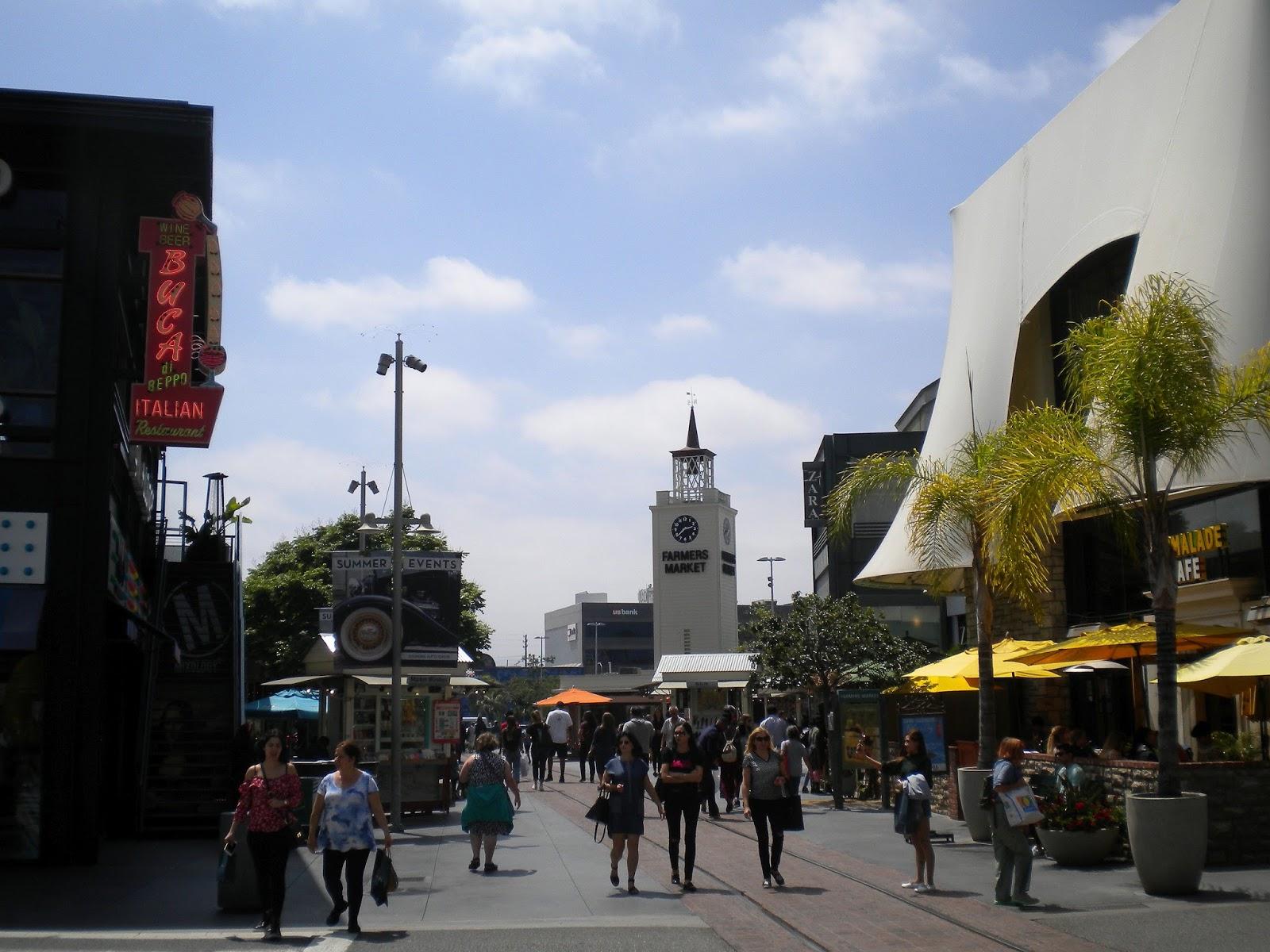 Los Angeles The Original Farmer's Market markkinat turistikohde Mallaspulla matkakertomus
