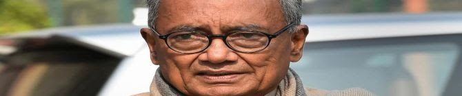 Digvijay Singh Sets Off Storm With Article 370 Remarks