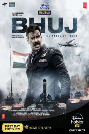 Bhuj The Pride of India (2021) Hindi Movie 1080p | 720p | 480p DSNP WEB-DL AAC ESubs