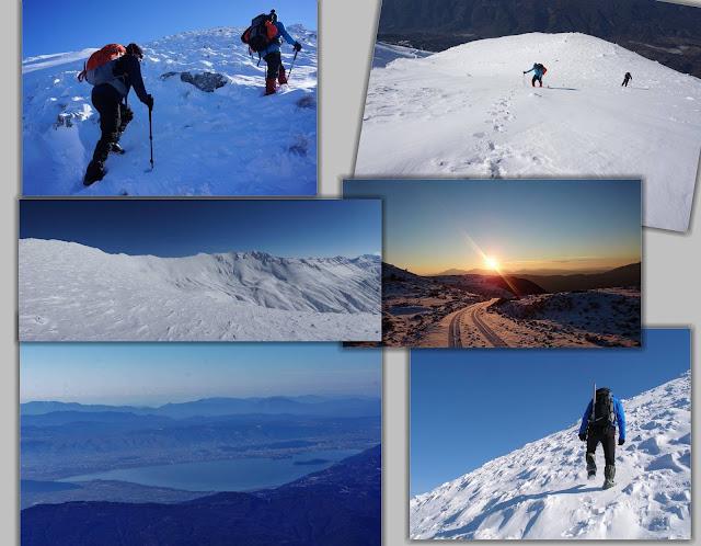 ΓΙΑΝΝΕΝΑ-Στην κορυφή Γκουράσα,από την Μεγάλη Γότιστα