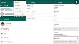 Cara Membuat Whatsapp Centang 2 Tidak Biru