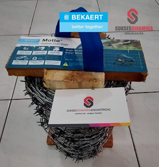 Jual Kawat Duri Barb Wire Kota Malang, KAWAT DURI BAJA MOTTO