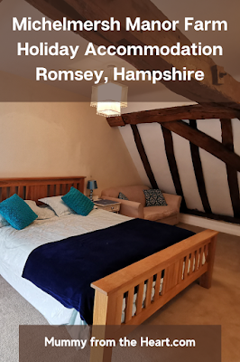 Michelmersh Manor Farm is a beautiful working farm with various self-catering holiday accommodation. You can feed the animals and explore the area