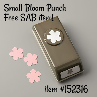 small bloom punch | free Sale-A-Bration Level 2 item | item #152316
