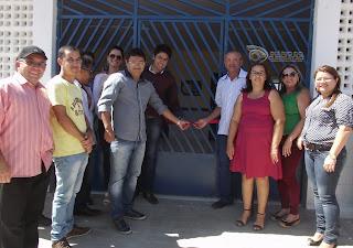 Prefeito Alyson Azevedo inaugura nova Escola na Comunidade Mendes