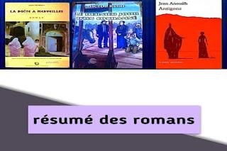 Les_résumés_des_romans_du_1bac