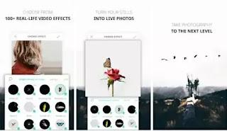 تحميل تطبيق VIMAGE Live Photo Editor لتصميم الصور واضافة مؤثرات حية ومتحركة اليها بطريقة احترافية مجانا للاندرويد