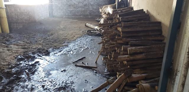 Incêndio destrói cerca de 20 mil kg de café em fazenda de Marília