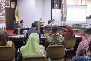 Sekdaprov Lampung Tindaklanjuti Hasil Evaluasi SAKIP tahun 2020