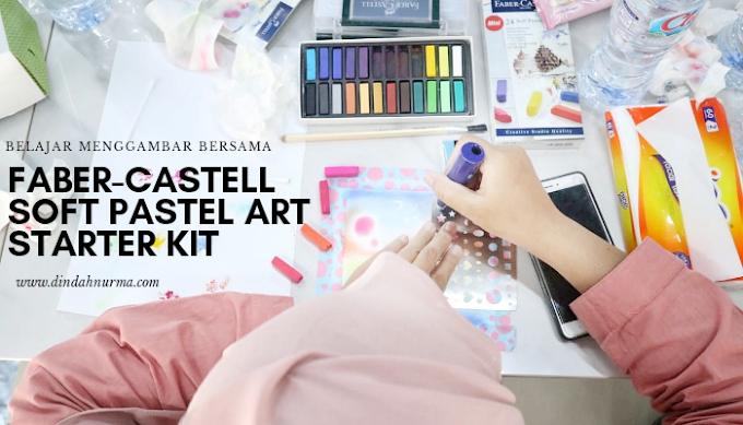 Belajar Menggambar Bersama Faber-Castell Soft Pastel Art Starter Kit