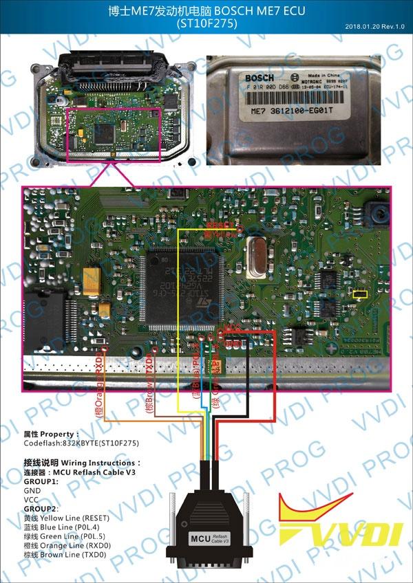 Bosch ME7 ECU ST10F275