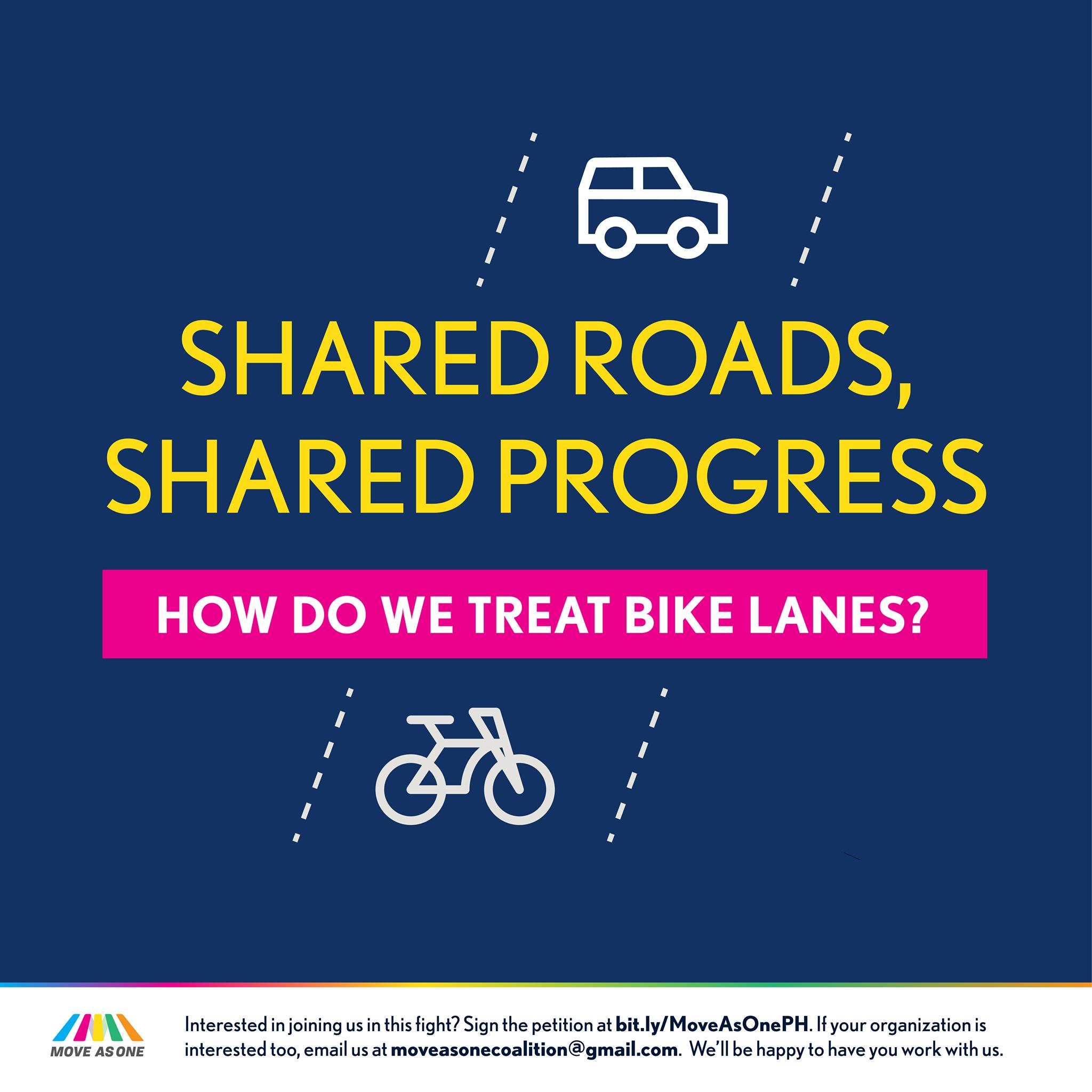bike lane poster