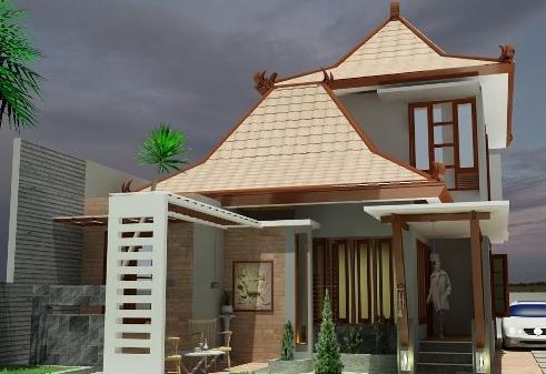 Desain Model Rumah Minimalis Modern Desain Rumah Etnik Jawa Modern 2016