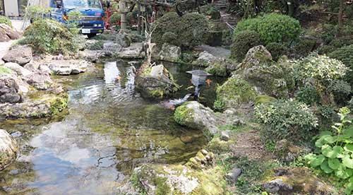 Remnants of the Yamauchi Family Villa, Kochi, Shikoku.