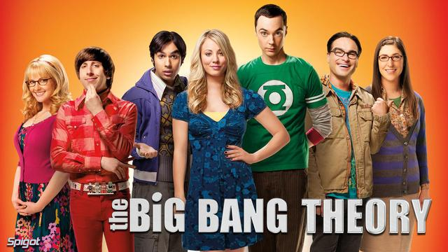 The Big Bang Theory classic sitcom-re-watching it several times without getting bored