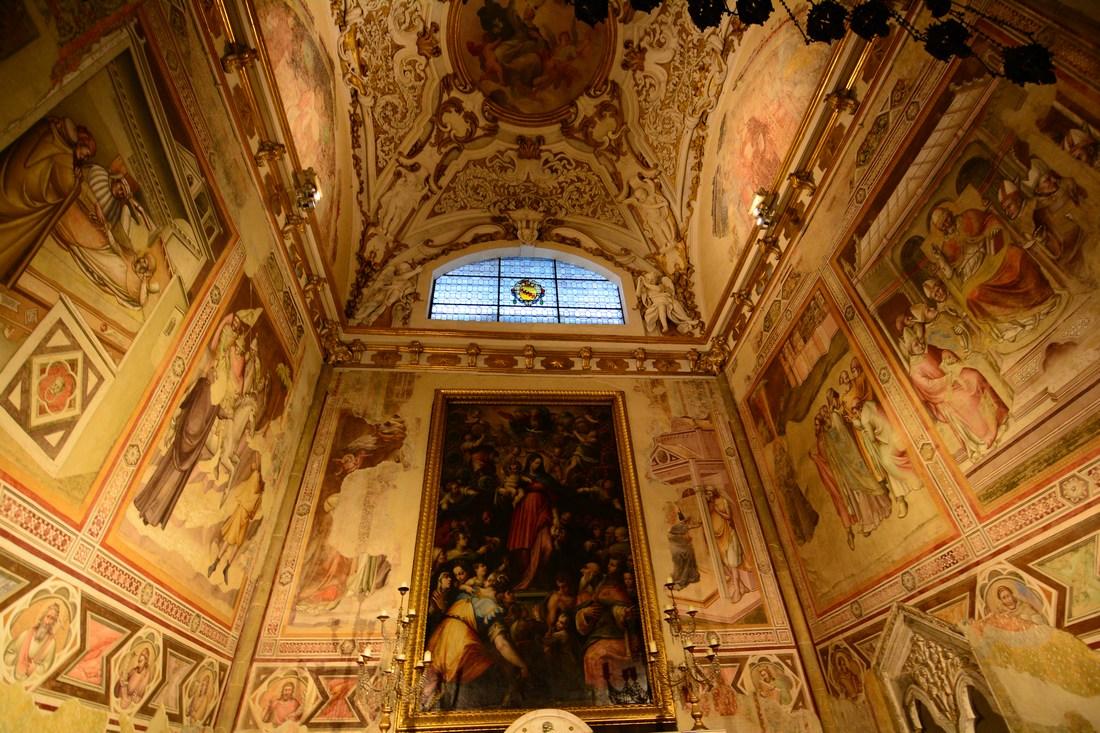 chapelle Bardi Santa Maria Novella Florence
