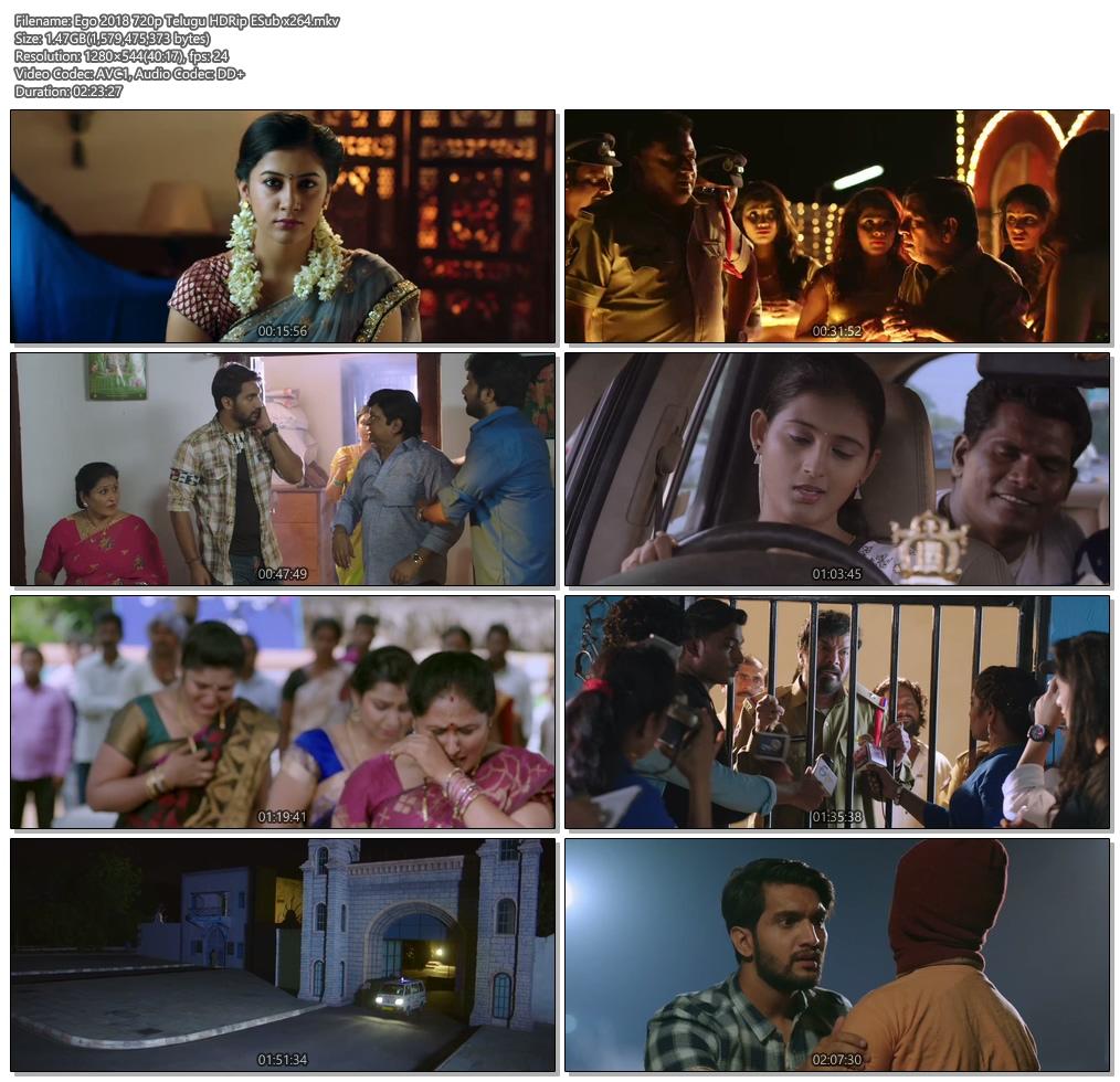 Ego 2018 720p Telugu HDRip ESub x264 | 480p 300MB | 100MB HEVC Screenshot