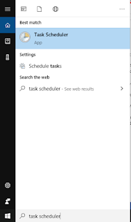 Window Task Scheduler