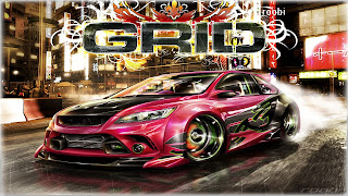Race Driver: Grid Cover Background