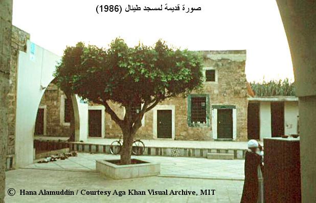 صورة قديمة لجامع الامير طينال