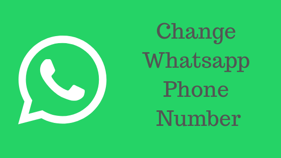 Whatsapp pe mobile number kaise Change kare How To Change WhatsApp Phone Number in hindi