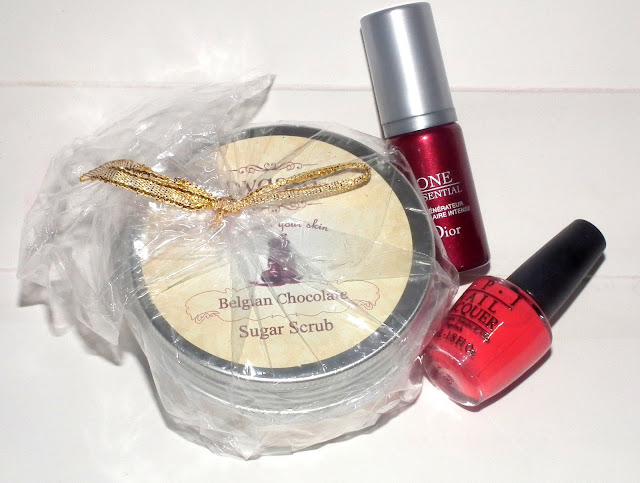 Samples Received in Beauty Box January 2013