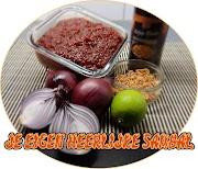 Heerlijke Sambal uit eigen keuken