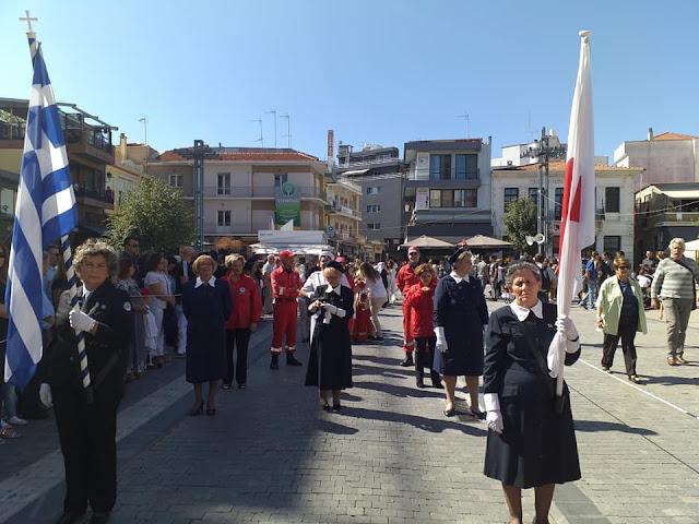 Εθελοντές του Ερυθρού Σταυρού Άργους στις επετειακές εκδηλώσεις για την απελευθέρωση της Τρίπολης