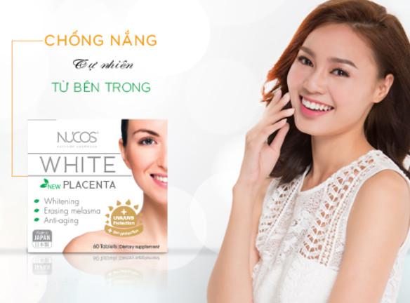 Viên uống trị nám Nucos White Placenta 100% nguyên liệu thiên nhiên