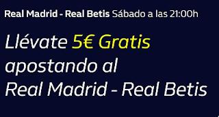 william hill 5€ Gratis Real Madrid vs Betis 2 noviembre 2019