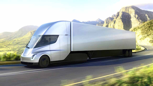 The Tesla Semi laughs at diesel trucks: Up to 800 km of autonomy with 0-100 km/h in 5 seconds