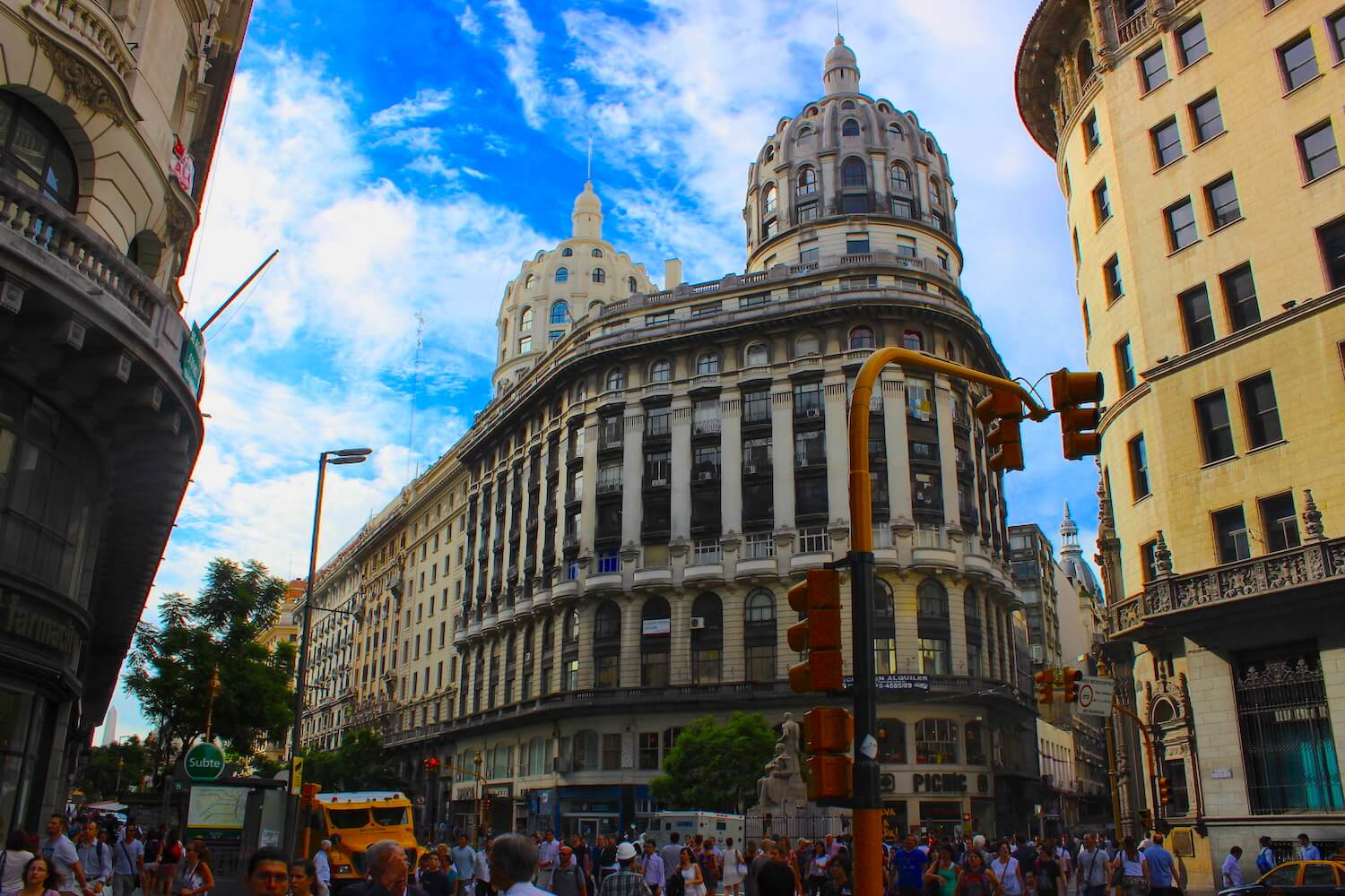 buenos aires street architecture