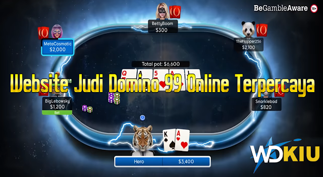 Website Judi Domino 99 Online Terpercaya