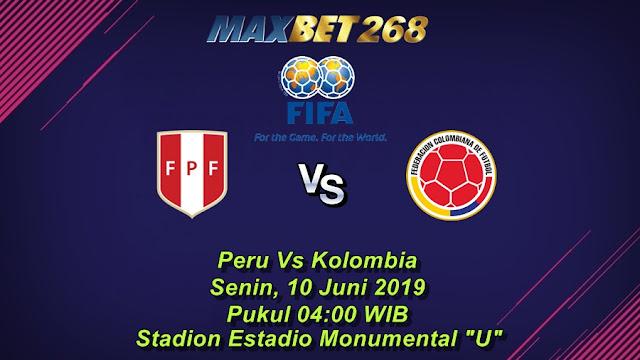 Prediksi Peru Vs Kolombia, Senin 10 Juni 2019 Pukul 04.00 WIB
