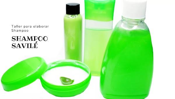 ▷ Fórmula para preparar Shampoo Savile Color Azul
