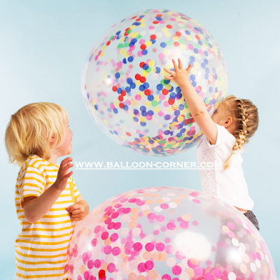 Balon Latex Transparan Jumbo 36 Inch (MURAH)