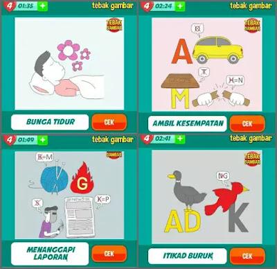 Jawaban tebak gambar level 31 nomor 5-8