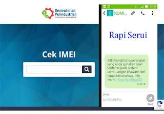 Cek IMEI - Punya Ponsel BM Siap-Siap Tak Bisa Digunakan Lagi