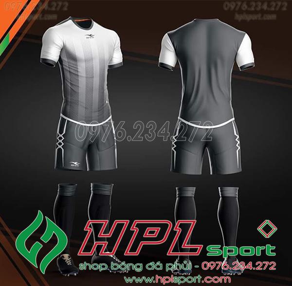 Áo bóng đá không logo KeepFly Snake màu xám
